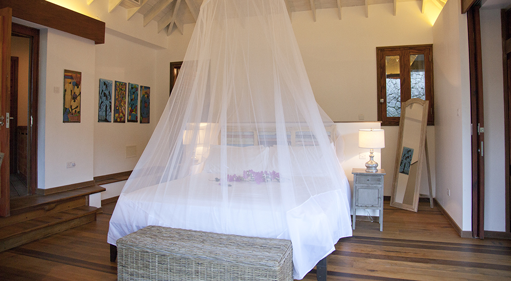 luxury king bedroom saint lucia
